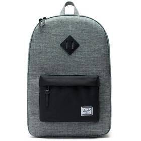 Herschel Heritage Backpack Unisex raven crosshatch/black